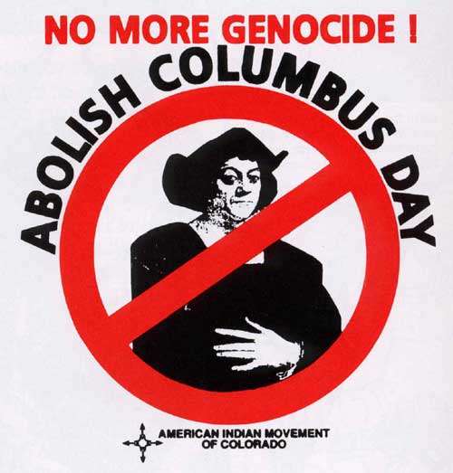 abolish columbus day Provide your input about christopher columbus's impact on america and whether or not we should celebrate the holiday.